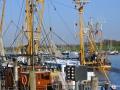 Nordseehafen Greetsiel in Ostfriesland