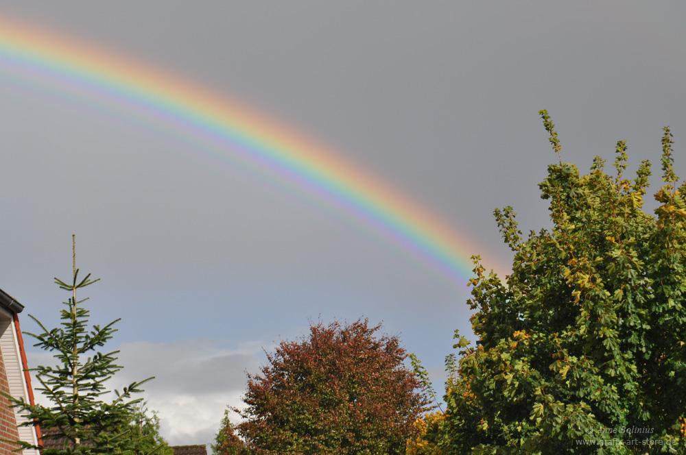 Regenbogen über Moormerland