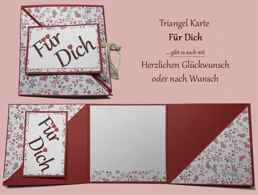 Triangel Tri-Fold Card